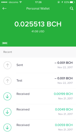 Bitcoin Wallet By On The App Store