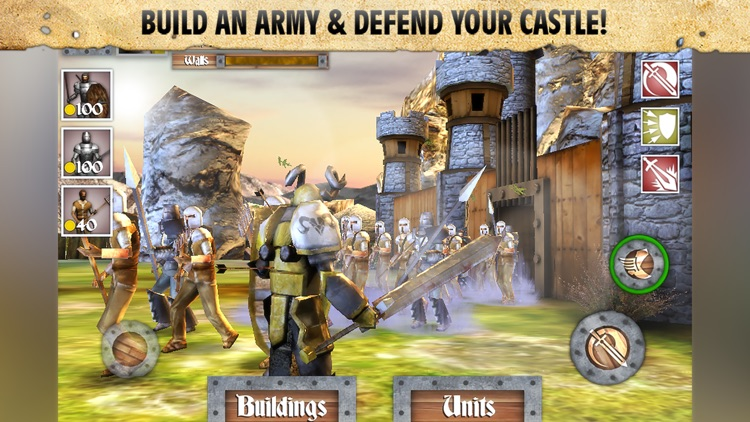 Heroes and Castles Premium screenshot-0