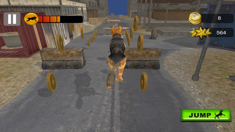 Dog Racing Challenge 3D 2017 screenshot-2