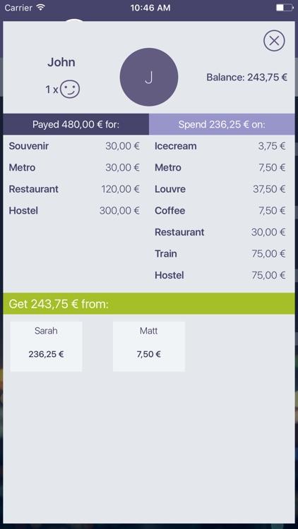 Split expenses & bills, costs screenshot-4