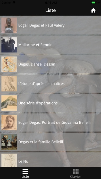 Degas, Danse, Dessin screenshot 3