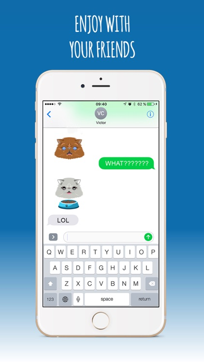 PersianCatMoji-Sticker & Emoji