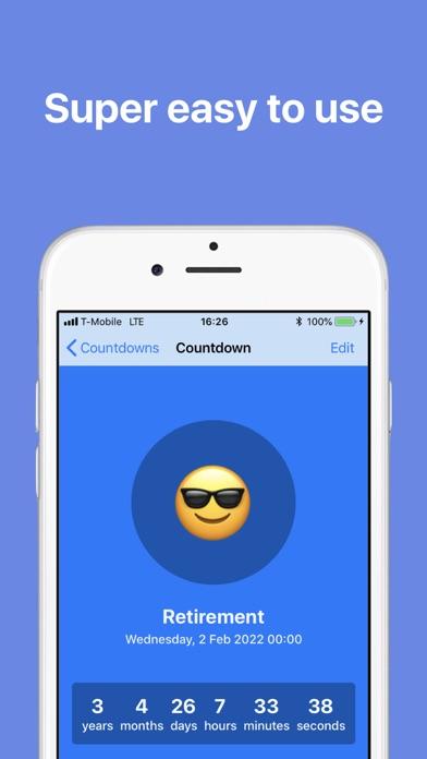Screenshot #8 for The Countdown App