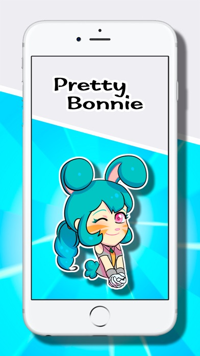 Love Stickers: Pretty Bonnie Screenshot