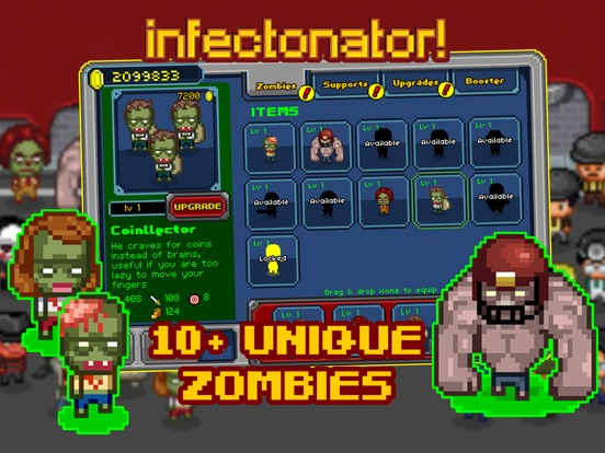 Screenshot #1 for Infectonator