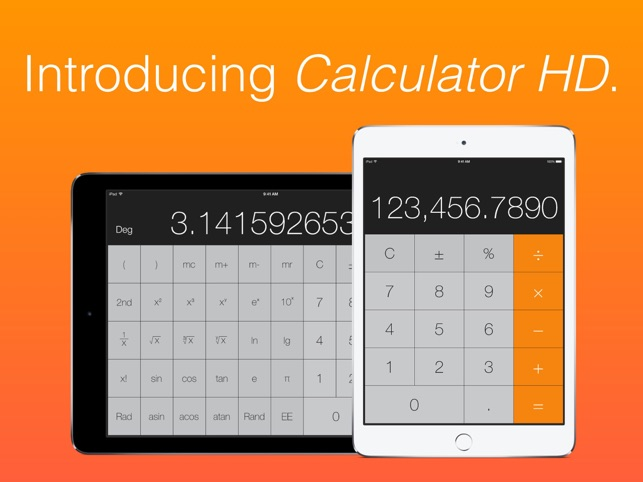 ‎Calculator HD by Caperea Screenshot