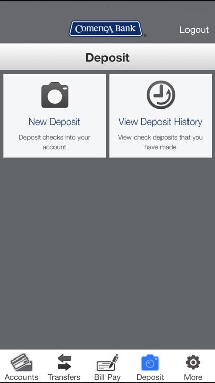 Comerica Mobile Banking® screenshot-4