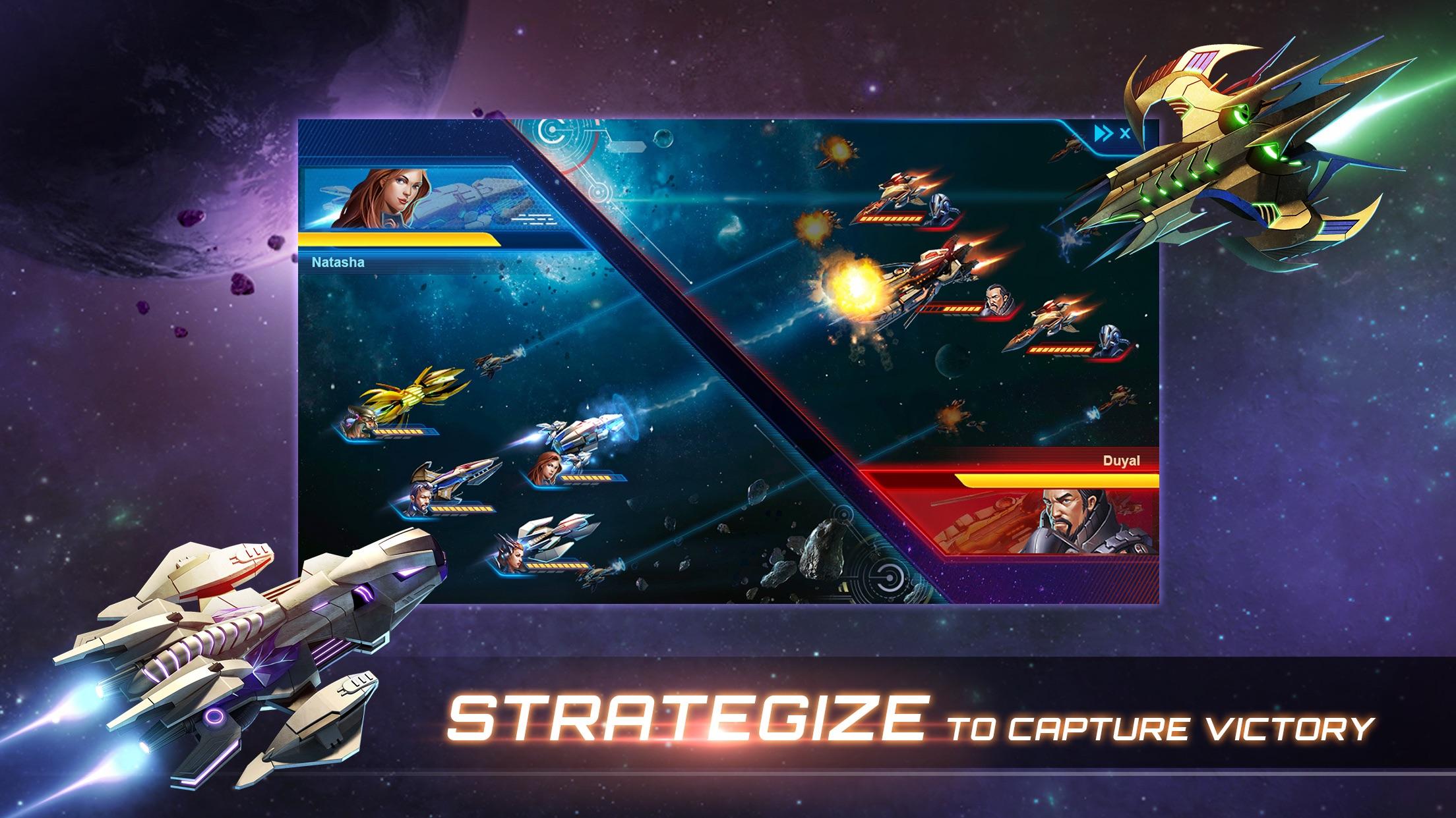 Galaxy Legend Screenshot