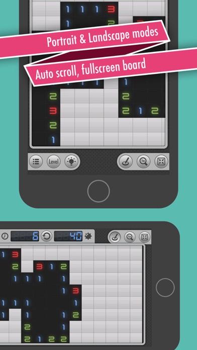 Screenshot of Sweepy Mines PRO (Minesweeper) App