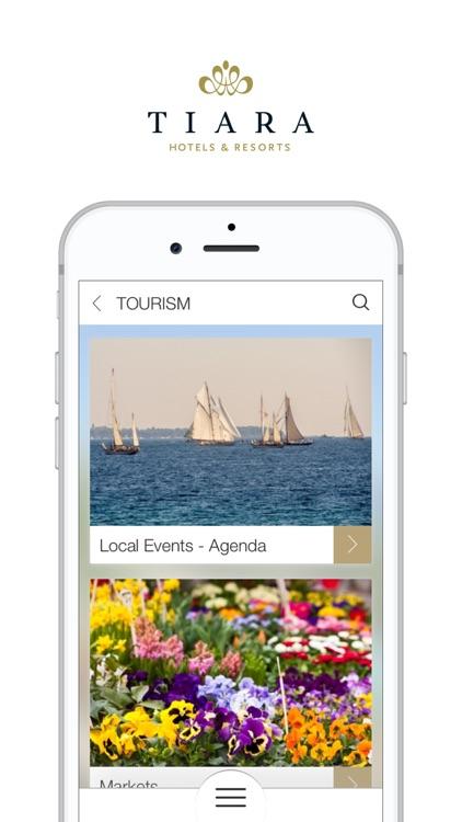 Tiara Hotels & Resorts screenshot-3