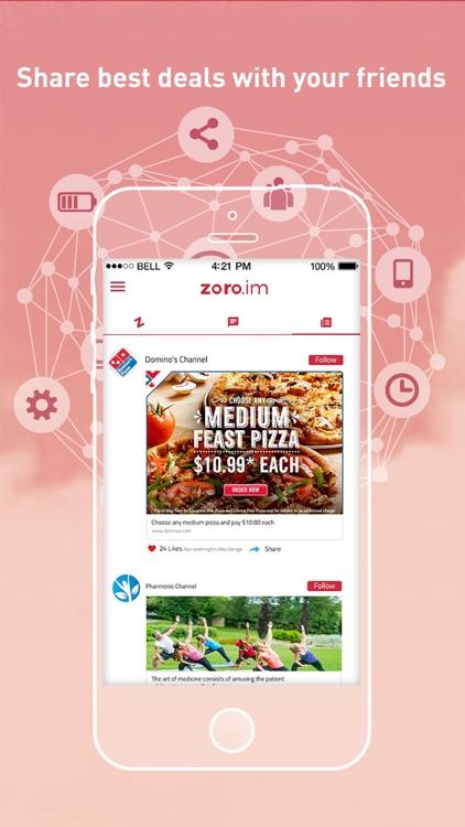 ZORO - Chat and buy with bots screenshot-3