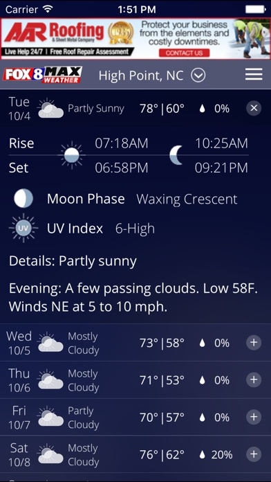 Fox8 Max Weather for Windows