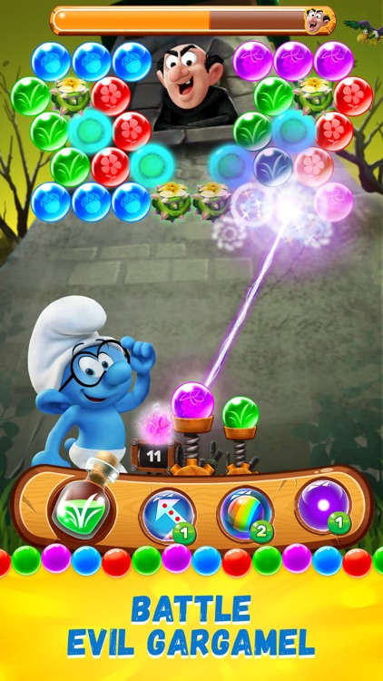 Smurfs Bubble Story screenshot-3