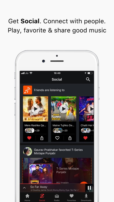 Gaana Music - Songs & Radio iPhone