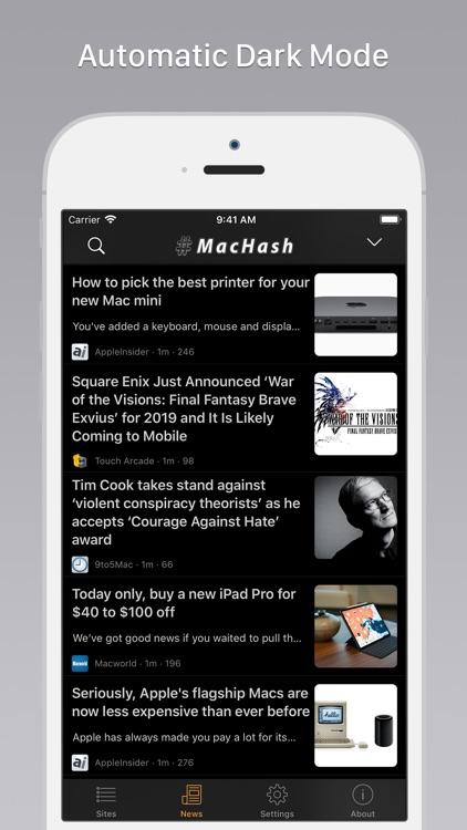 MacHash News