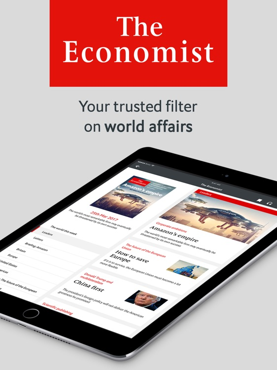 The Economist: World & US News