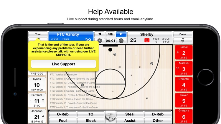 Basketball Stat Tracker screenshot-5