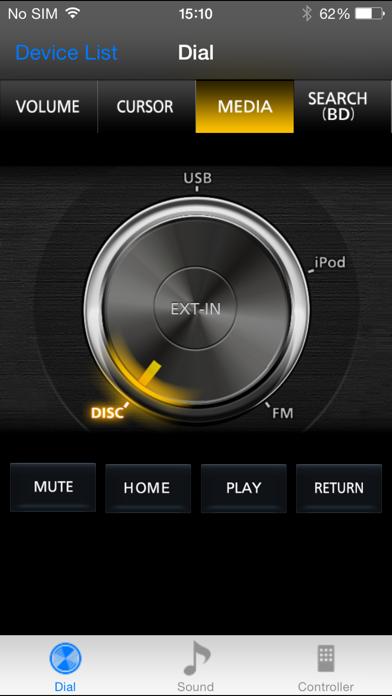 Panasonic Theater Remote 2014 screenshot one
