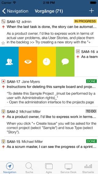 Mobility for Jira - TeamScreenshot von 1