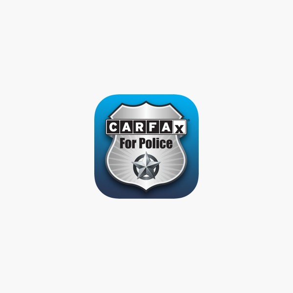 Carfax For Police On The App Store