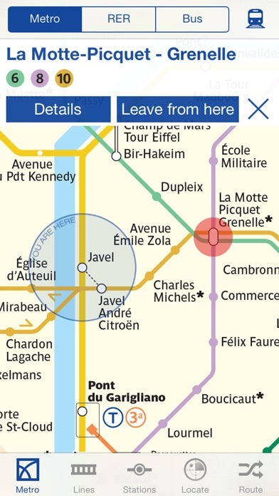 Metro Paris Subway Screenshot 1
