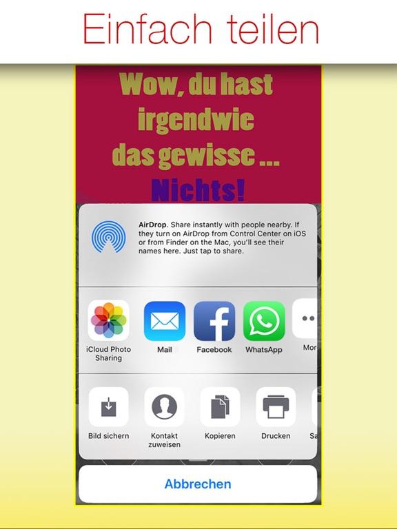 Freche Sprüche - SPRUCHBILDER screenshot 8