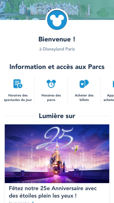 download Disneyland® Paris apps 3