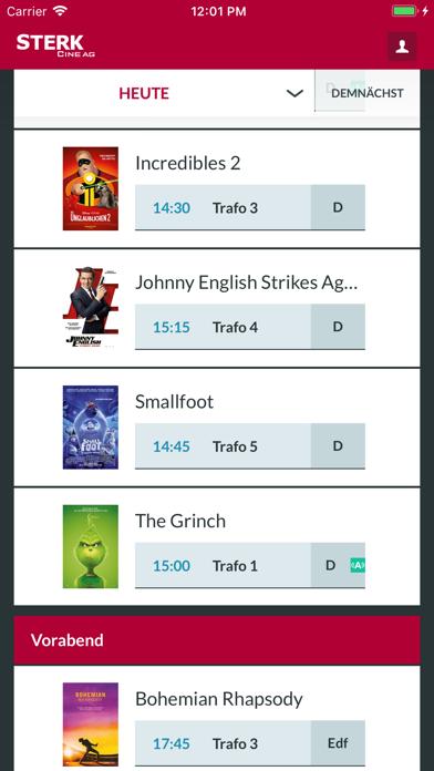 Kino Sterk screenshot two