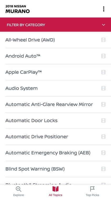 Nissan Quick Guide screenshot-3