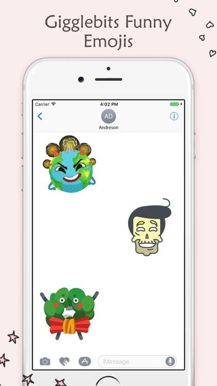 Gigglebits Funny Emojis screenshot-3