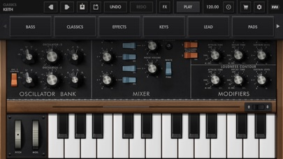 Minimoog Model D Screenshot 3