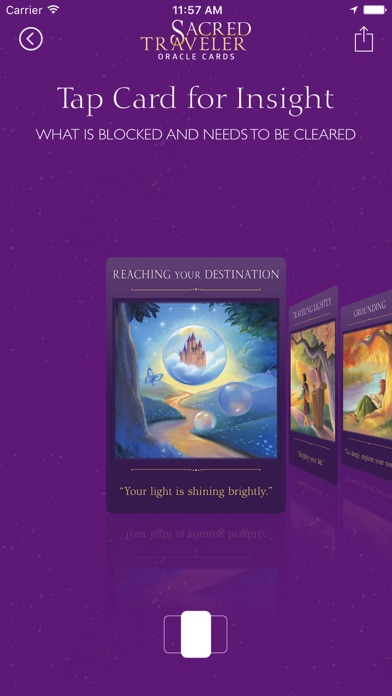 Sacred Traveler Oracle Cards screenshot 3