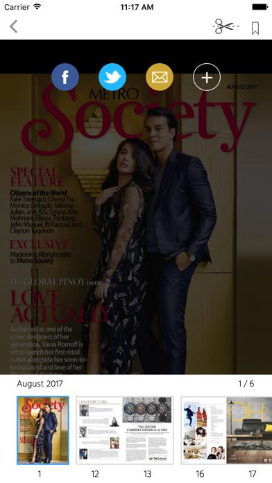 Metro Society Magazine screenshot 2