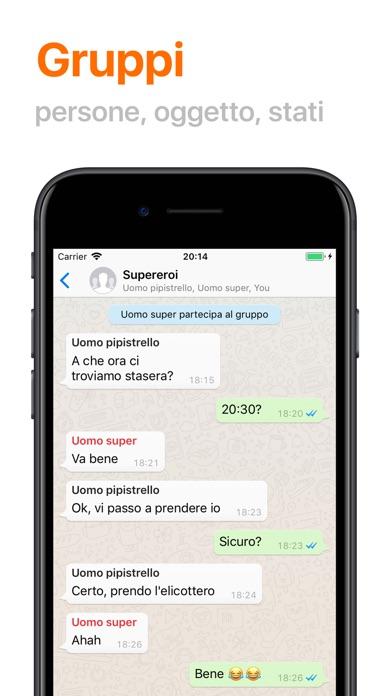 WhatsFun - Conversazioni finte
