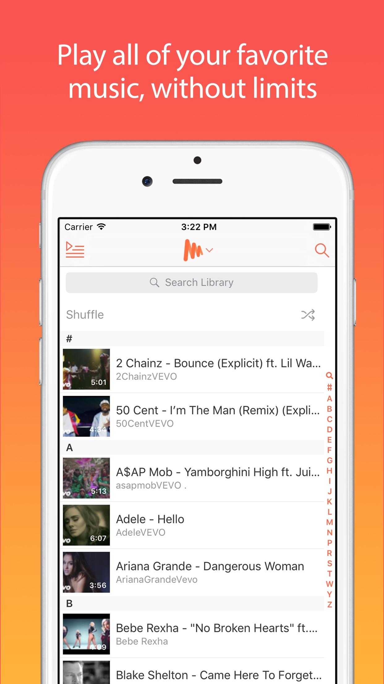 Musi - Unlimited YouTube Music Screenshot