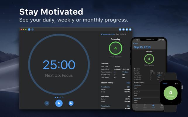 Focus - Time Manager Screenshot