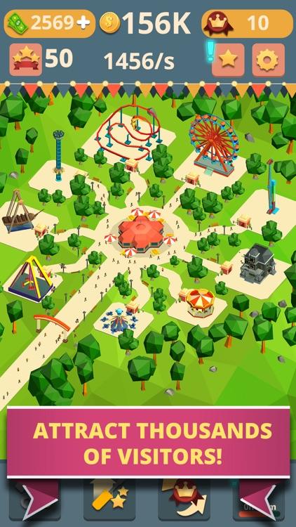 Theme Park Clicker: Idle Hero screenshot-3
