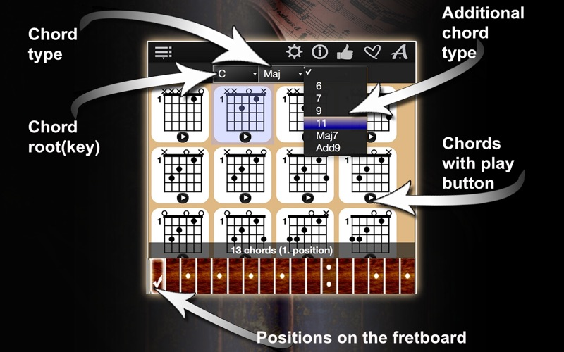 Guitar Chords Compass App Price Drops
