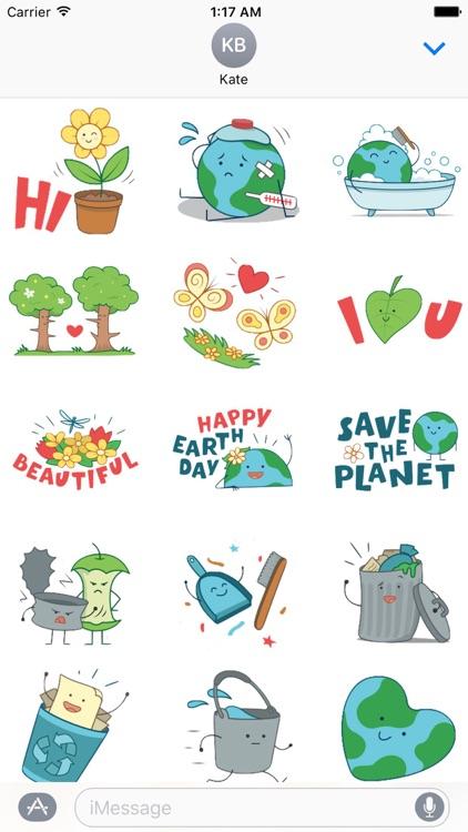 Happy Earth Day Sticker