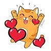 Saint Valentin Stickers Animés