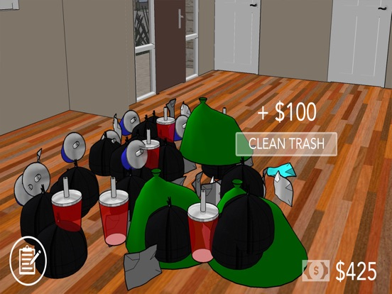 House Cleaner Flipper Game Screenshots