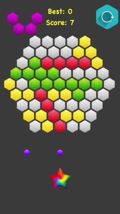 Hexagonal Merge. screenshot 3