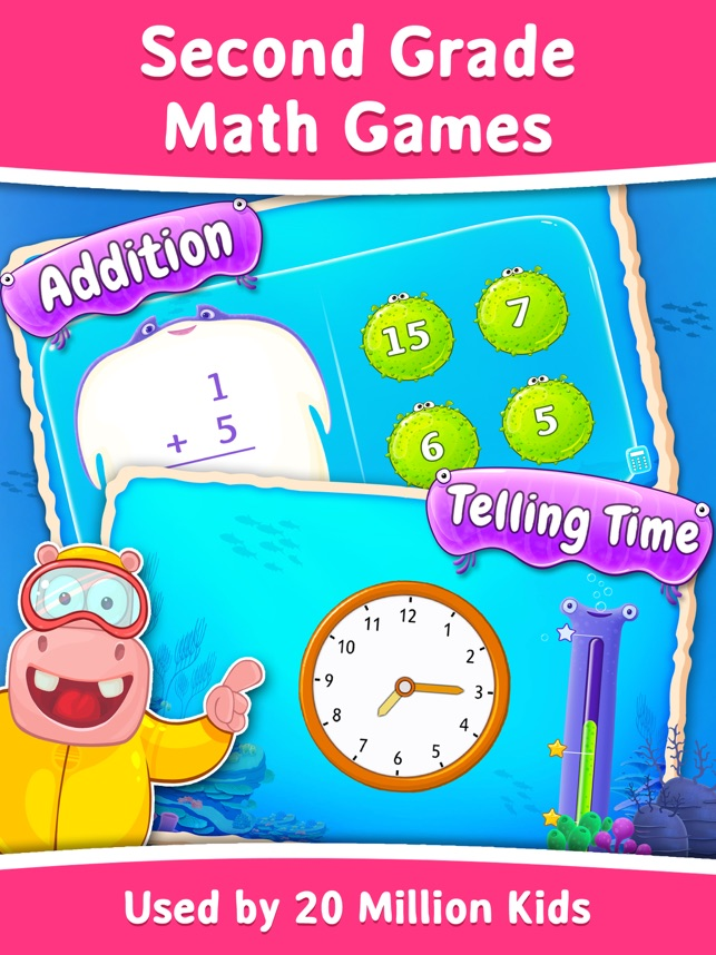 2nd Grade Math Learning Games On The App Store