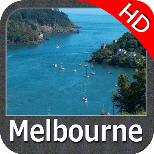 Melbourne HD Nautical Charts