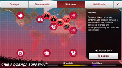 Screenshot for Plague Inc. in Portugal App Store