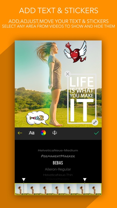 SlideMaker Video Editor Screenshot on iOS