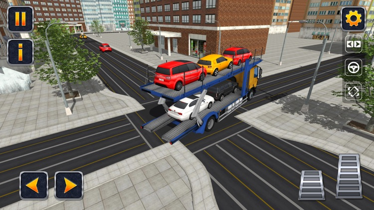 City Car Transporter Trailer