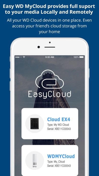 EasyCloud for WD My Cloud by Muhammad Siddiqui (iOS, United States