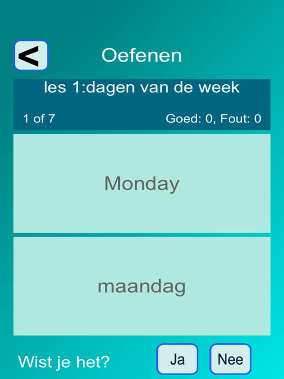Woorden EN (Taalles Engels) screenshot 5
