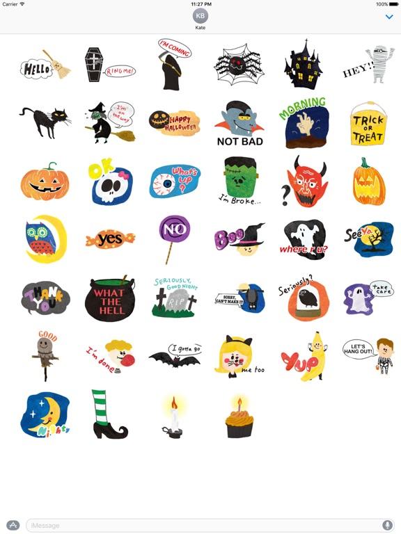 Halloween Characters And Icons screenshot 4